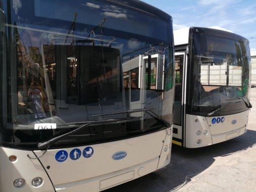 Шість нових тролейбусів вийде на маршрути, завдячуючи лізингу