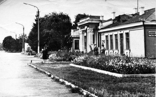 """Станція """"Золотоноша-2"""" у 1984 році - фото з сайту shucach.com"""