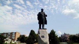 пам'ятник Тарасові Шевченку, місто Умань
