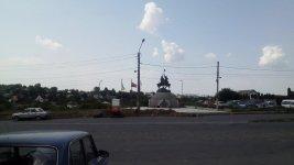пам'ятник Гонті і Залізняку, місто Умань