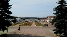 привокзальна площа станції Смородине