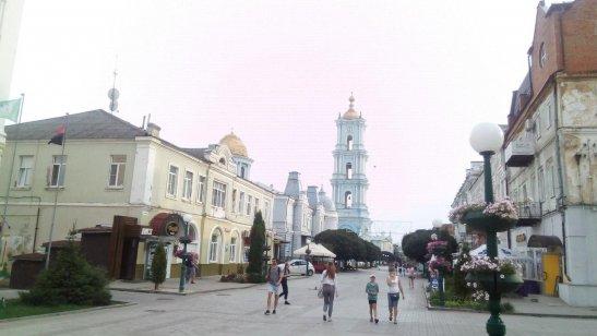 вулиця Соборна, місто Суми