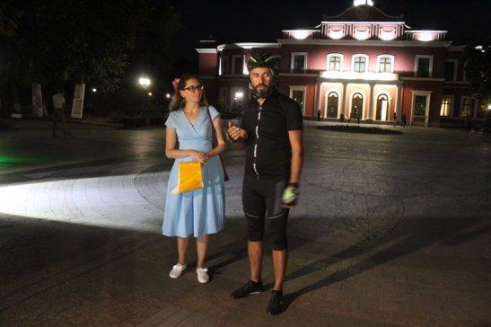 Ірина Ткаченко та Андрій Паливода