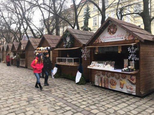 Кав'ярня «Мерсі» із Кропивницького представляє місто на Різдвяному ярмарку у Львові!