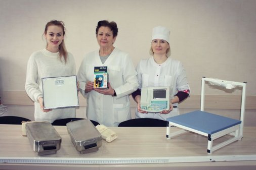 Фонд «Дивожиття» передав медобладнання у дитяче відділення тубдиспансеру