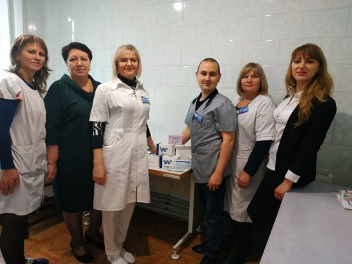855 тестів для діагностики ВІЛ отримали медзаклади Кіровоградщини від благодійників