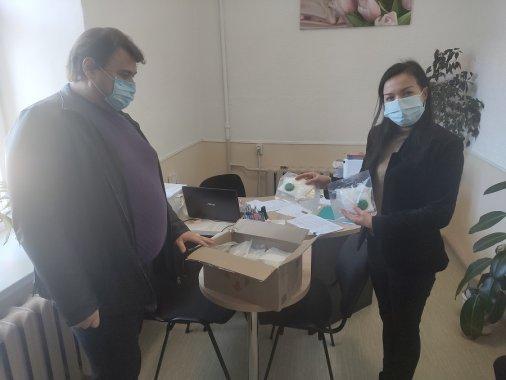 В громаді на Кіровоградщині безкоштовно роздавали маски