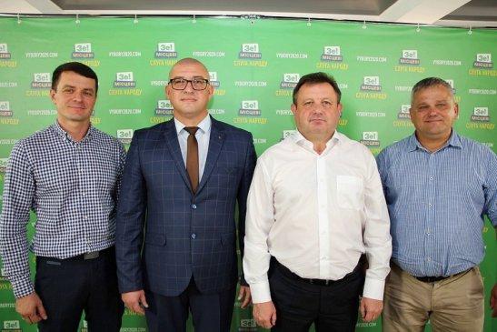 Кандидати в депутати Кiровоградської обласної ради