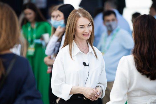 Кандидатка на посаду міського голови Кропивницького Ольга Ковальова-Алокілі