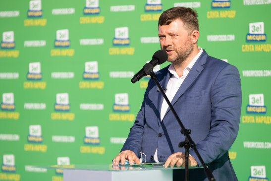 голова партії «Слуга Народу» Олександр Корнієнко