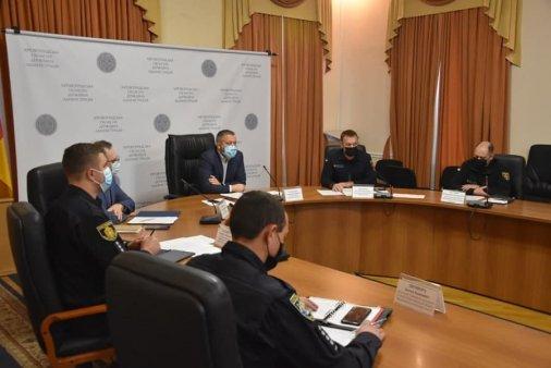 Цивільний захисту області: Карантин не заважає навчанню