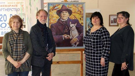 До дня народження Дмитра Чижевського: картина в подарунок і челендж для кропивничан