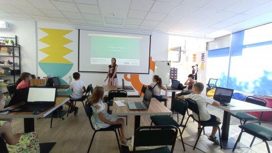 """Програмування для найменших: У Гончаренко центрі розпочався курс """"Основи комп'ютерної грамотності"""""""