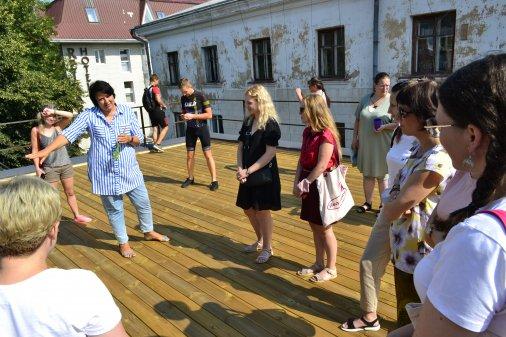 """Сад на даху у """"Гончаренко Центрі"""" буде масштабнішим завдяки програмі """"Сафарі для громад"""""""