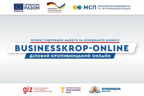 Веб-сайт «BusinessKrop-online» розроблятиме компанія з Кропивницького.