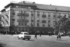 Так выглядела площадь в советское время