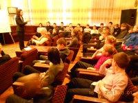 Зал, де проходять семінари