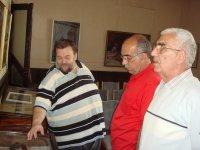 Гости и работники музея