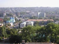 Вид из отеля на город