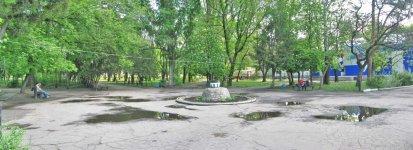Бывший фонтан