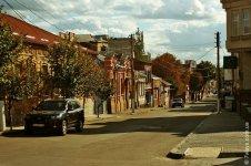 Вид с улицы Дворцовой - на улицу Пашутинскую
