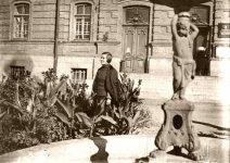 Так выглядела площадь возле университета в советское время