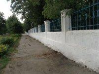 Парк имени Крючкова в Кировограде (лето 2013) - улица Ленинградская
