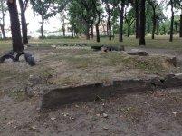 Парк имени Крючкова в Кировограде (лето 2013) - бывшая песочница