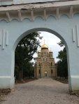 Парк имени Крючкова в Кировограде (лето 2013) - новый храм