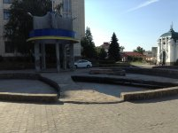 Сквер с пантерами, фото - tusovka.kr.ua