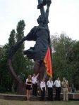 Памятник героям-комсомольцам в Кировограде