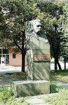 Памятник Кропивницкому в Кировограде - до реконструкции Театральной площади