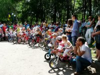 Дитяча велогонка у Кіровограді