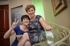 Жанна Сичкарь и Виктория Талашкевич (автор фото - Елена Карпенко)