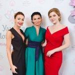Вдохновляющие руководители Татьяна и Наталья и зажигательная ведущая Анна - на презентации клуба